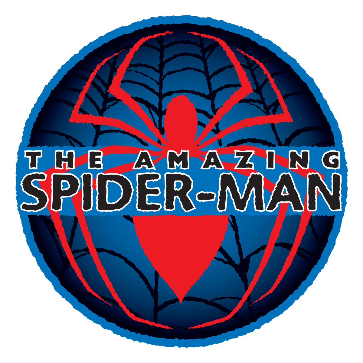 the amazing spider man style guide on behance rh behance net spiderman circle logo mens t shirt Spectacular Spider-Man Circle Logo