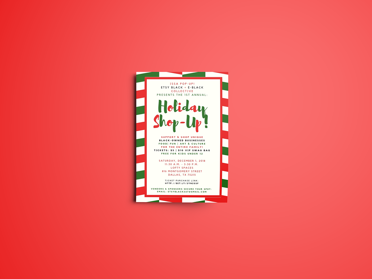 Holiday Flyer on AIGA Member Gallery