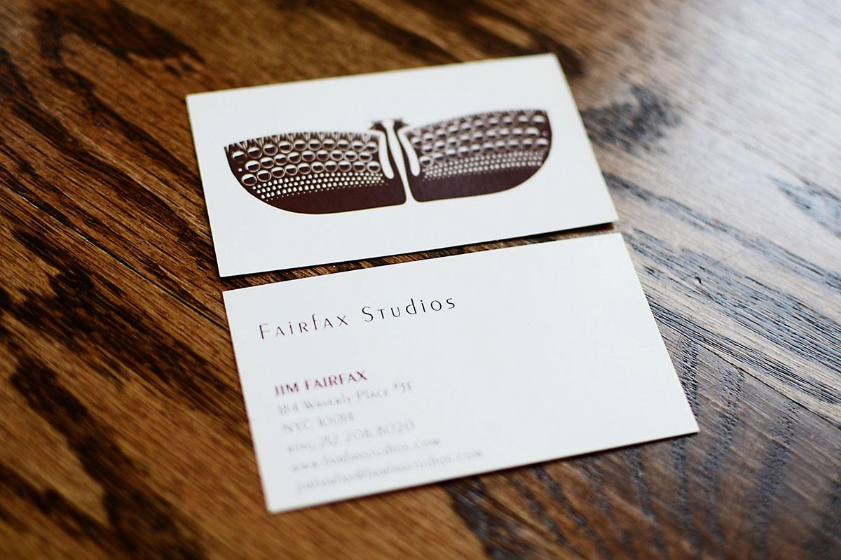 Logo and business card design for NYC Interior Designer