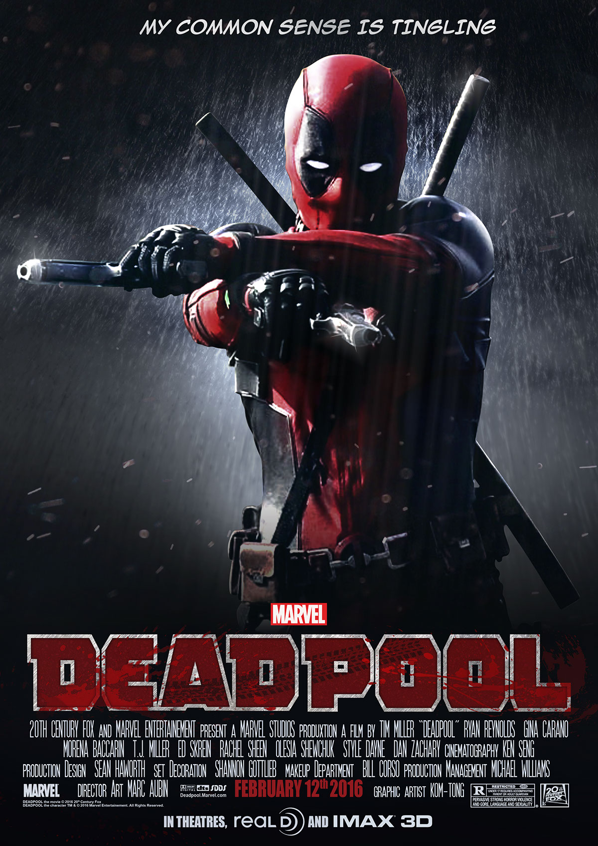 Image result for dead pool poster movie