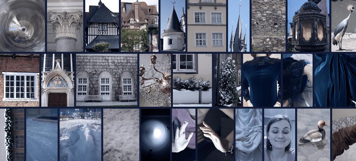 ILLUSTRATION  visual development art photo manipulation matte painting   collage winter