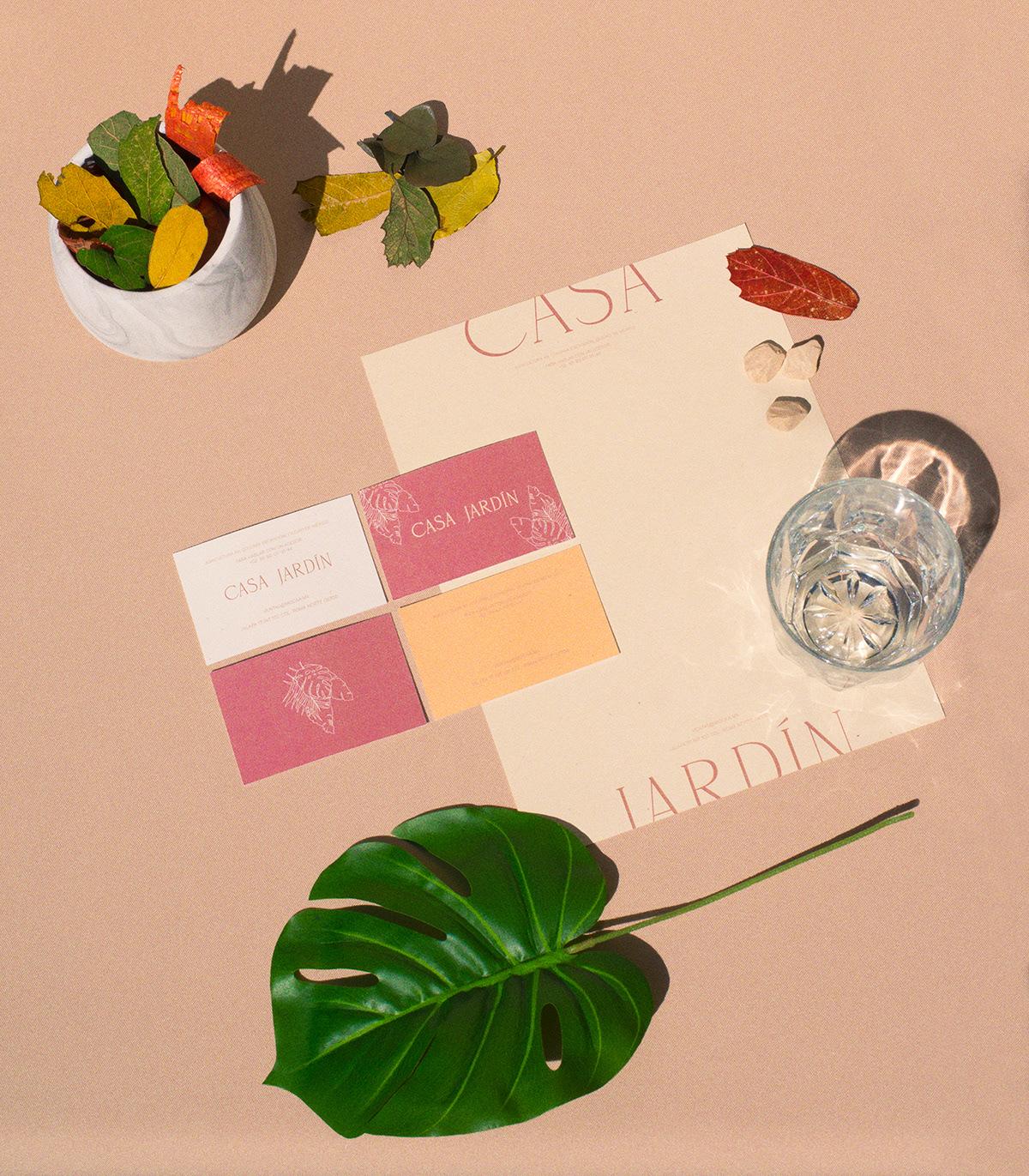 architecture branding  bymanifiesto development editorial garden mexico real estate stationary visual identity