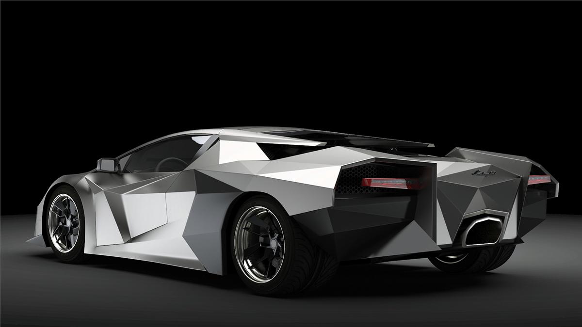 roventa alexandru ruver redsign concept 3D MAX 3ds car automotive   Vehicle