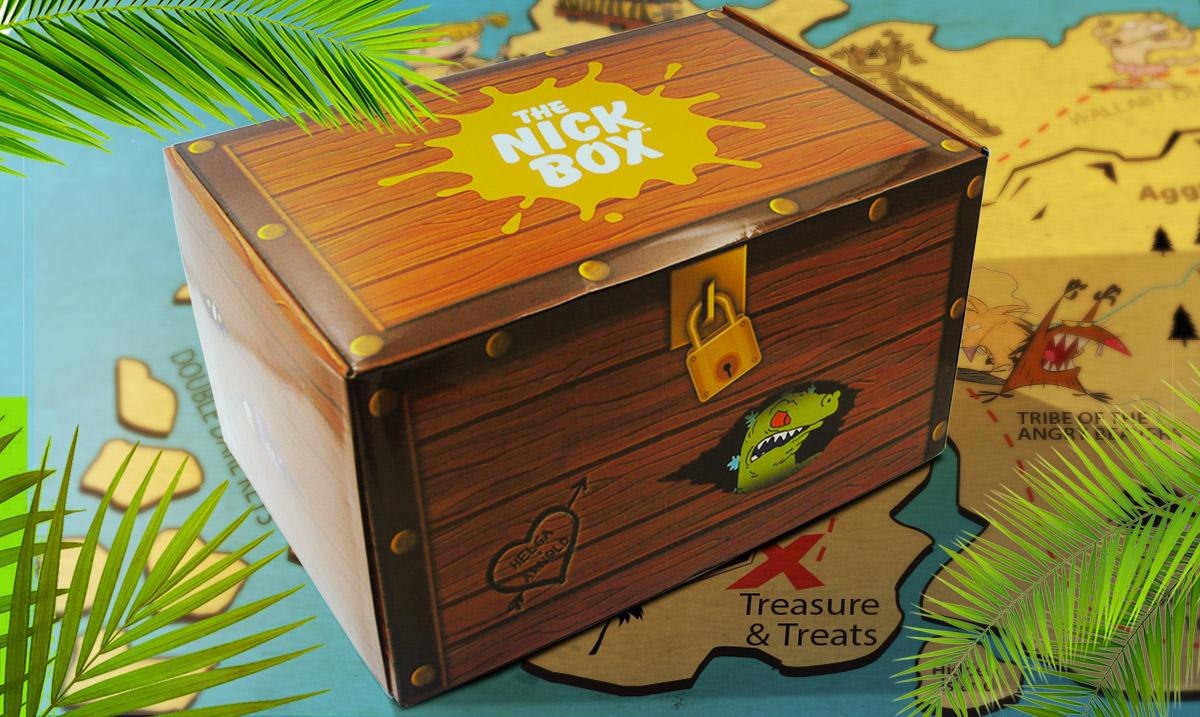 nickelodeon subscription box chocolate Rug Rats Cartoons