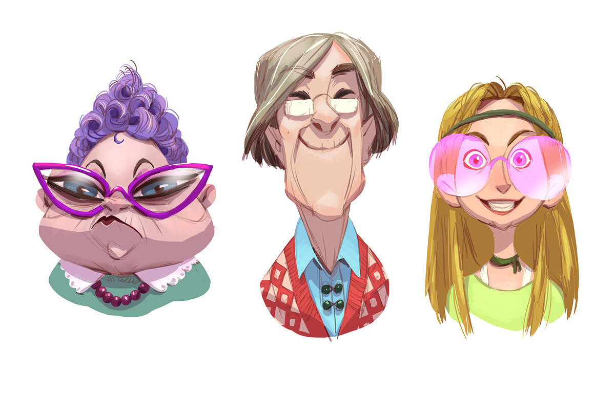 Character Design For Animation Course : Character design for animation courses cgma on behance
