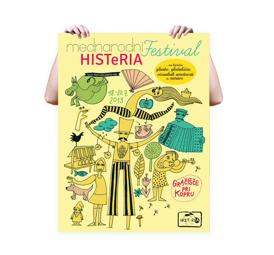 Illustration | Etno Histeria poster on Behance