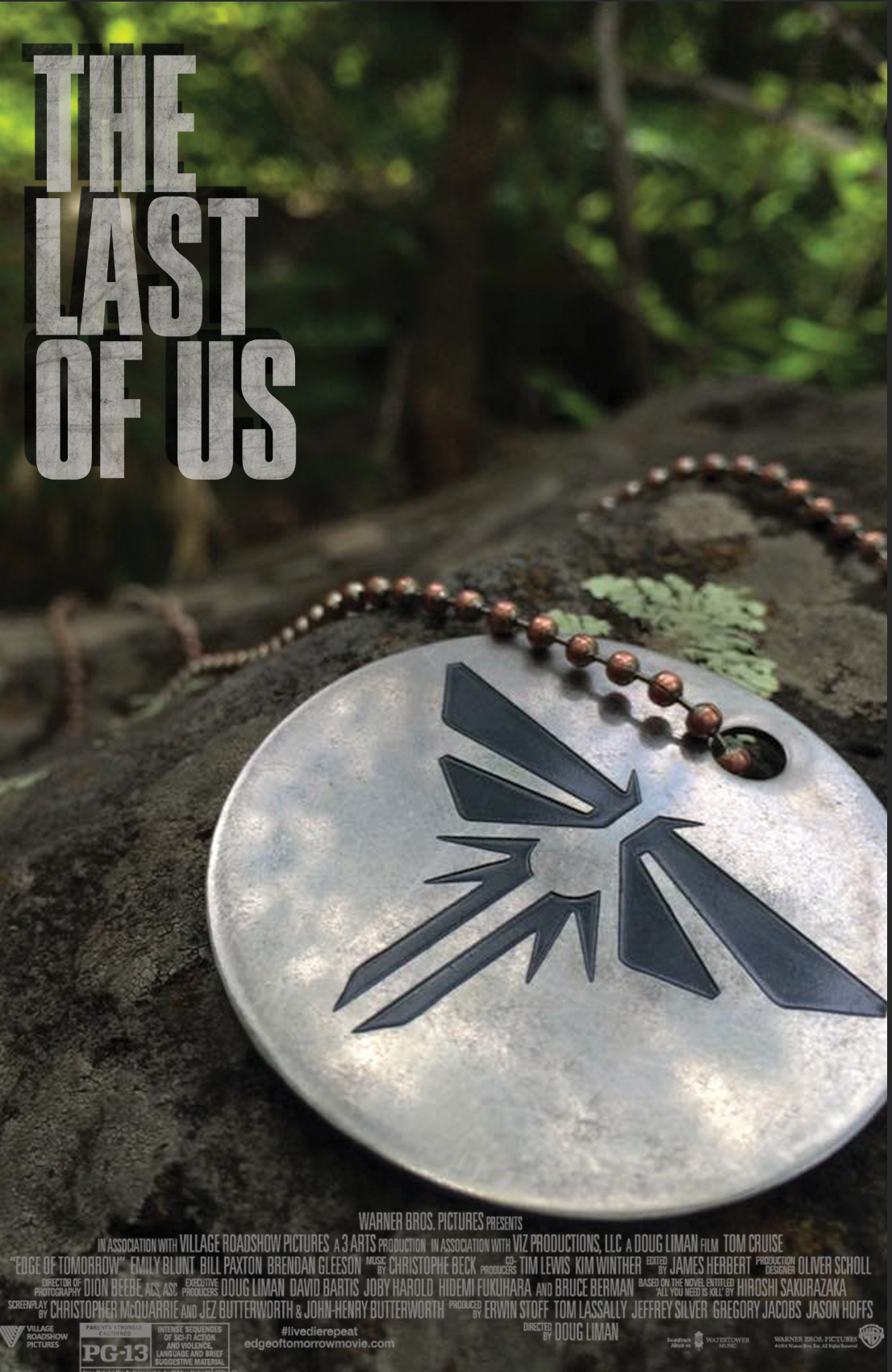 Last Of Us Movie Poster On Behance