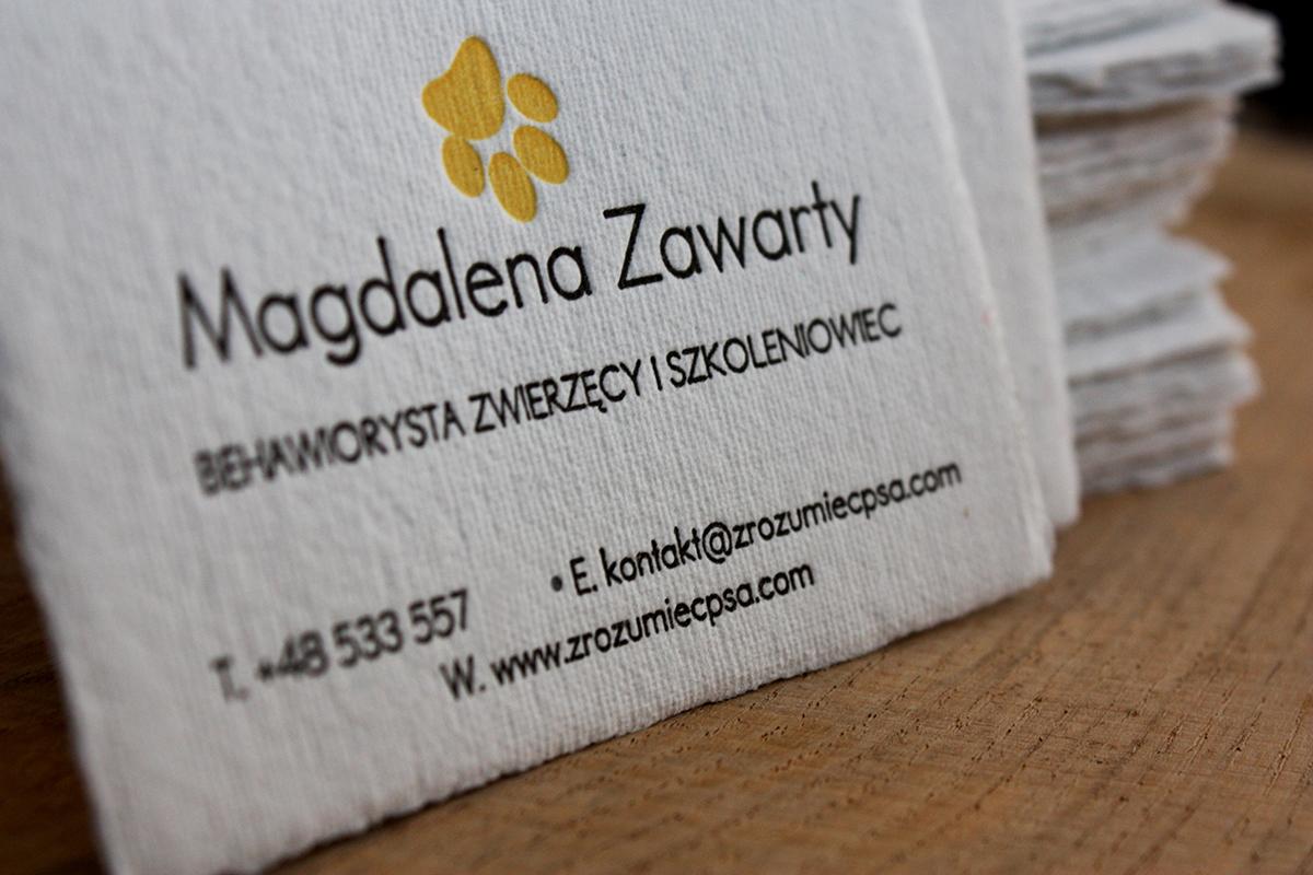 letterpress businesscard cotton slowprint