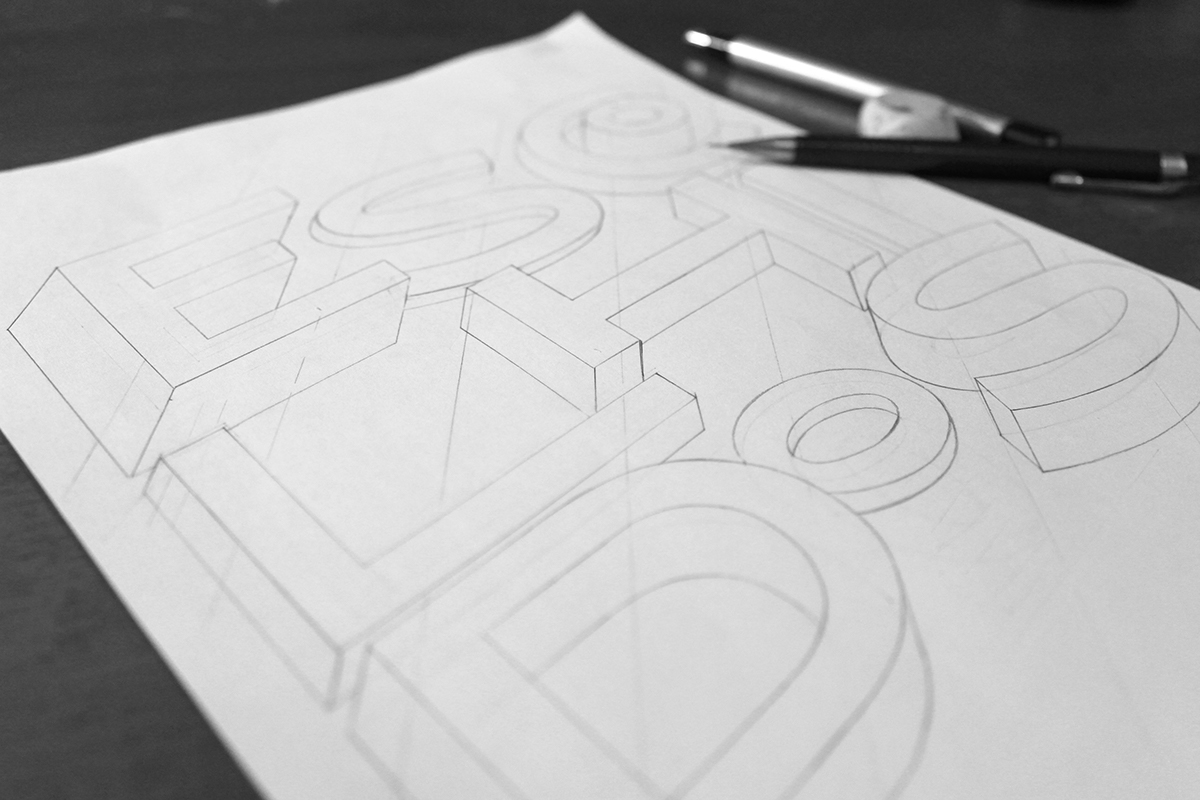 lettering editorial typography   Calligraphy   magazine desing