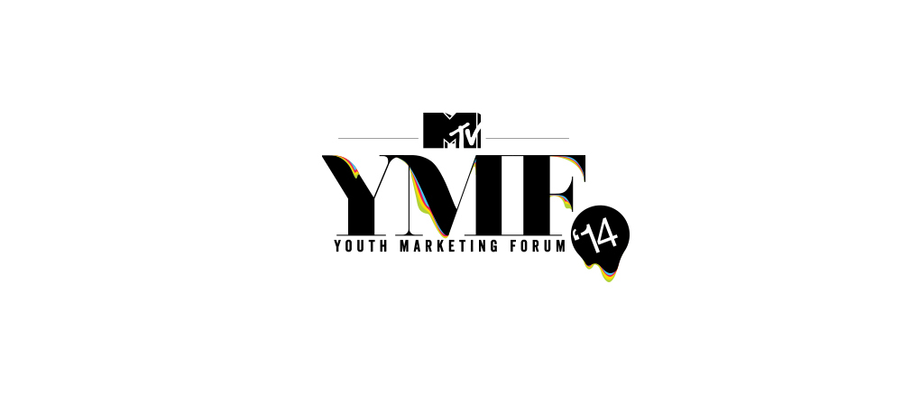 youth marketing   forum Mtv mtv india ymf print campaign collage typo type problems Young poster