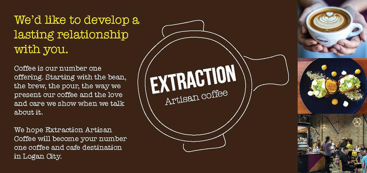 Extraction Coffee Branding On Behance