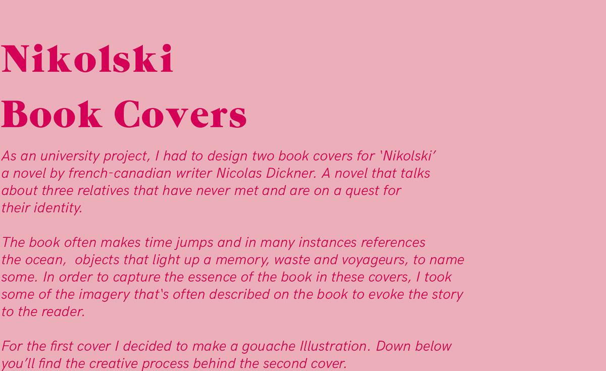 Nikolski Book Covers on Behance