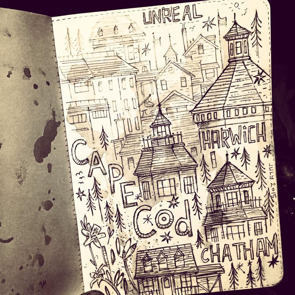 sketchbook sketching drawn pencil pen and ink watercolour Fun urban sketching