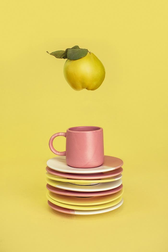 ceramic food photography fruits colour art photography Minimalism vegetables