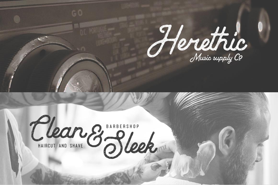 Vintage Typeface 76