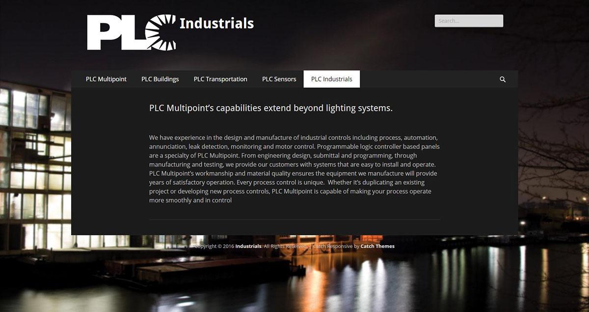 PLC Multipoint WordPress Site