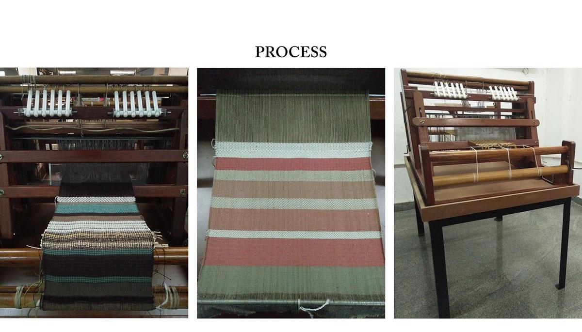 Handloom Weaving on Behance