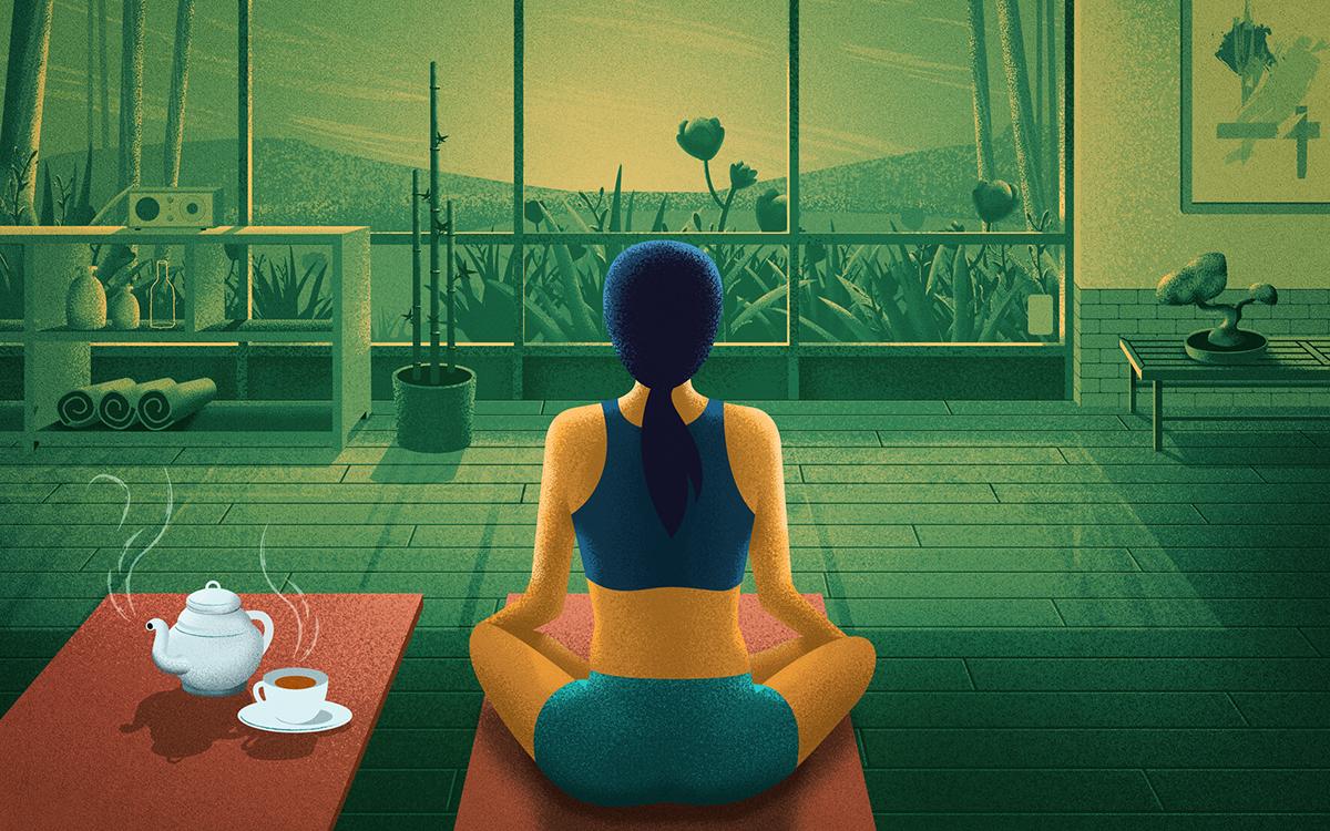 tea Coffee study farm Office Yoga cafe room family friends