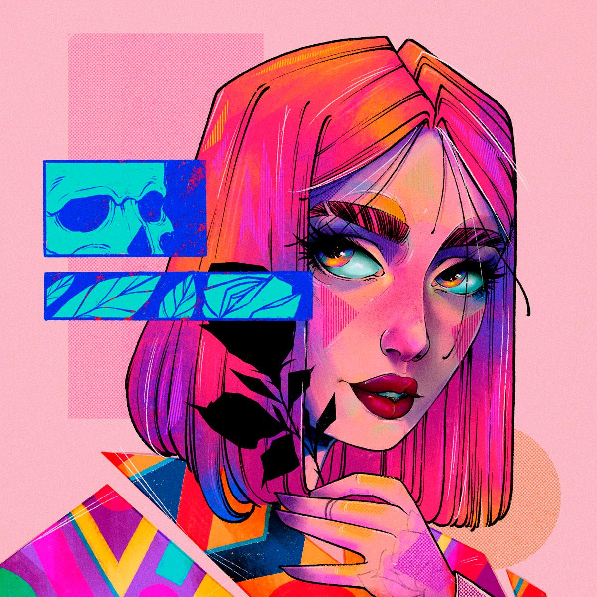 Image may contain: drawing, cartoon and art