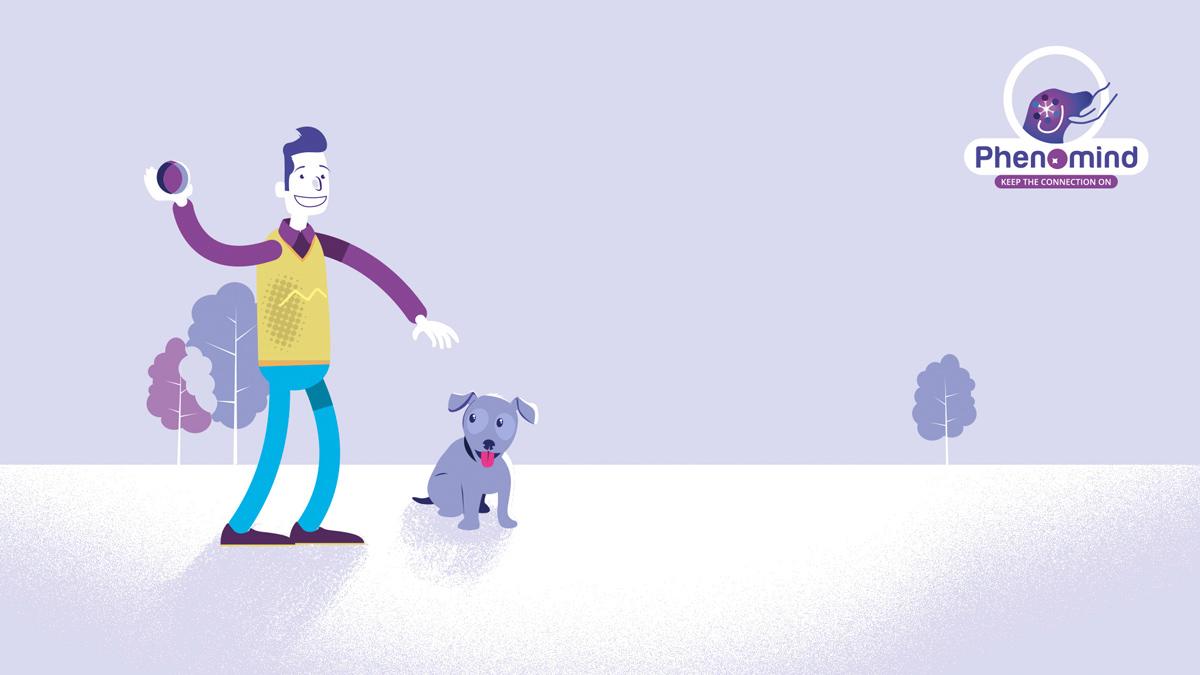 dog motion walking cycle