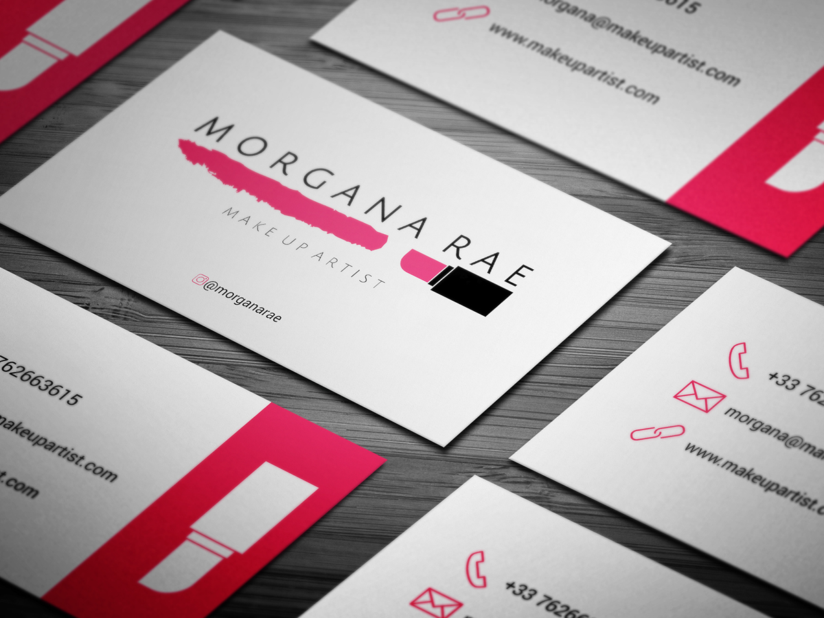 10 Free Makeupartist Business Card Templates On Student Show