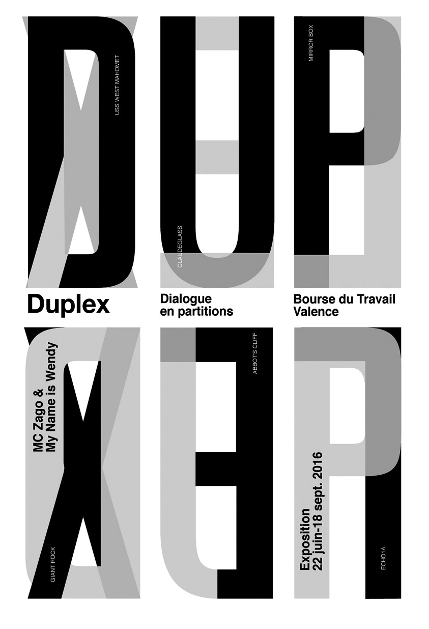 Graphic identity for an exhibition