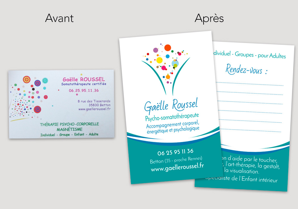 Logo Et Carte De Visite Relooks On Behance