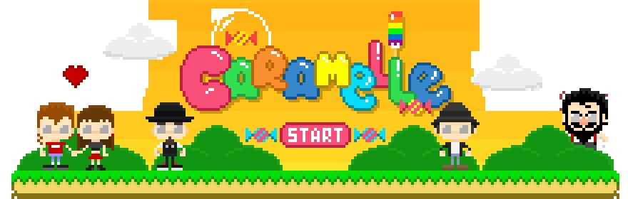 pixelart concept design storytelling   2D Animation pixel artist caramelle video videogame direction 16bit