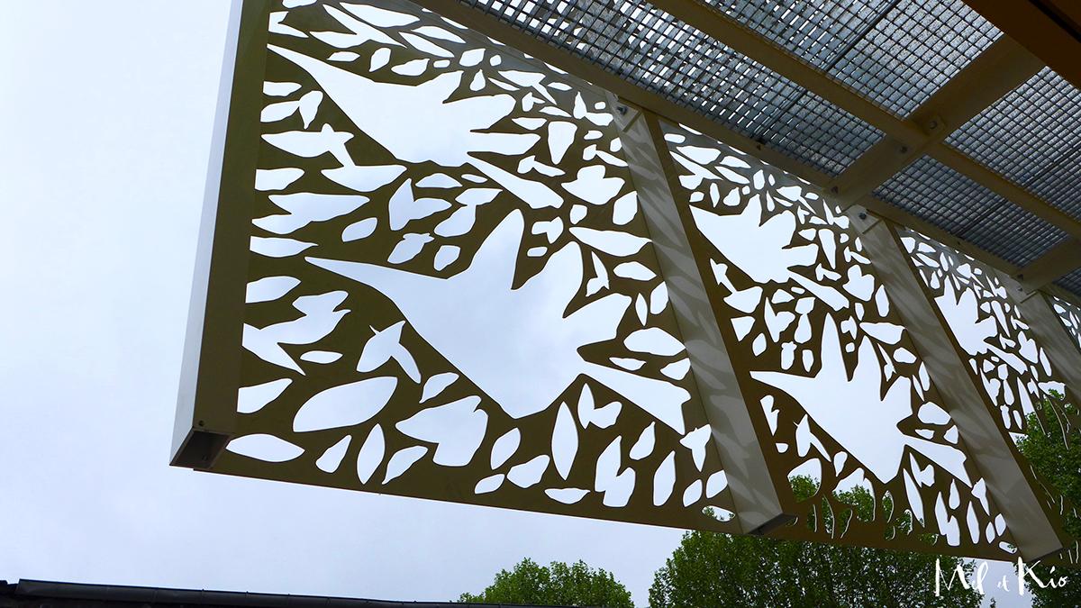mel et kio art design mural oeuvres graphiques wall design walldesign poésie sur murs murale oeuvre oeuvres monumentale Vitrophanie grand format