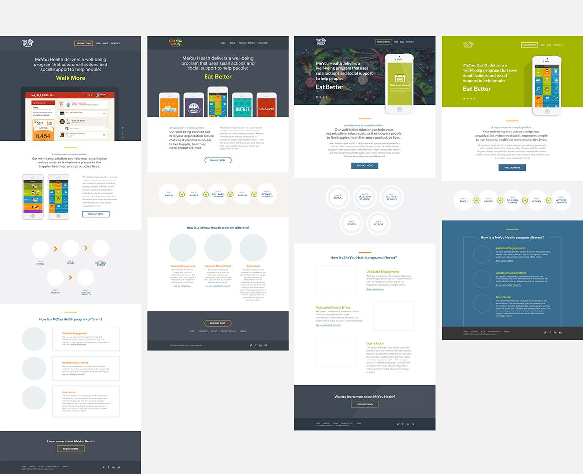 UI ux design desktop