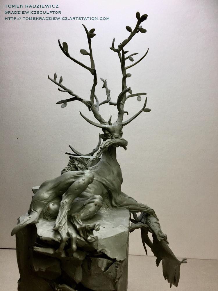 Character concept art creature design monster sculpture