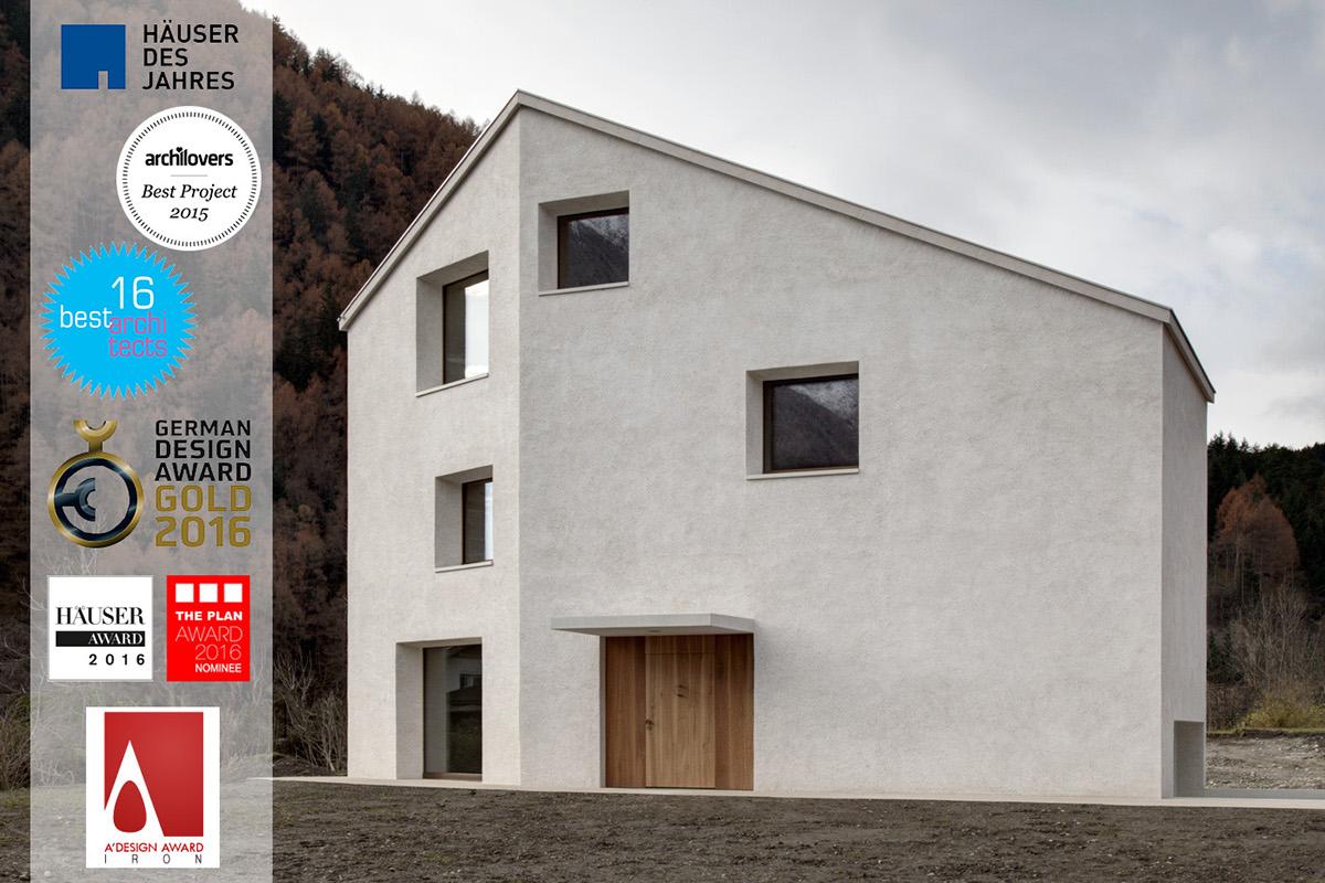 Haus am Mühlbach, Mühlen in Taufers (I) on Behance