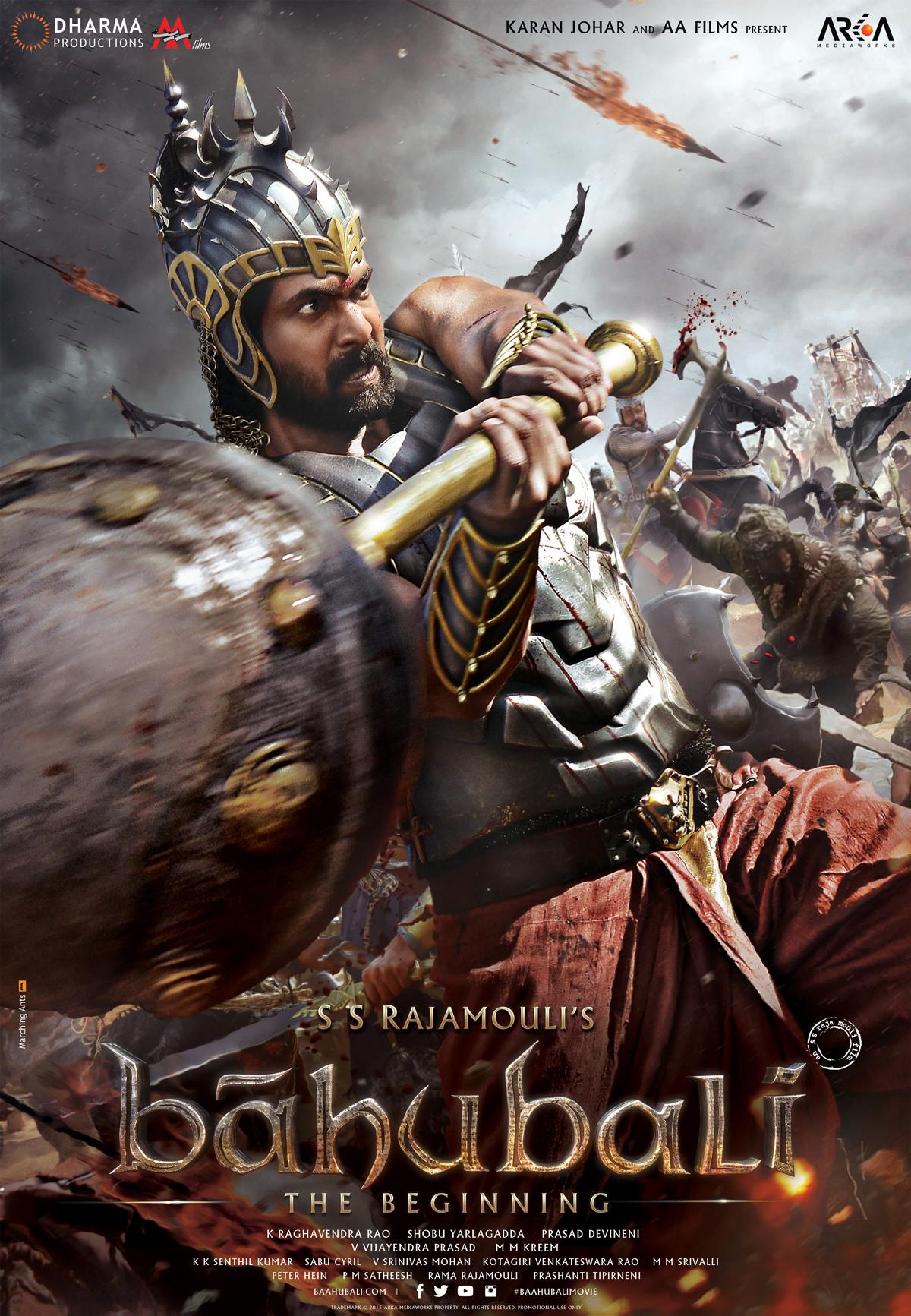 bahubali poster 1 on behance