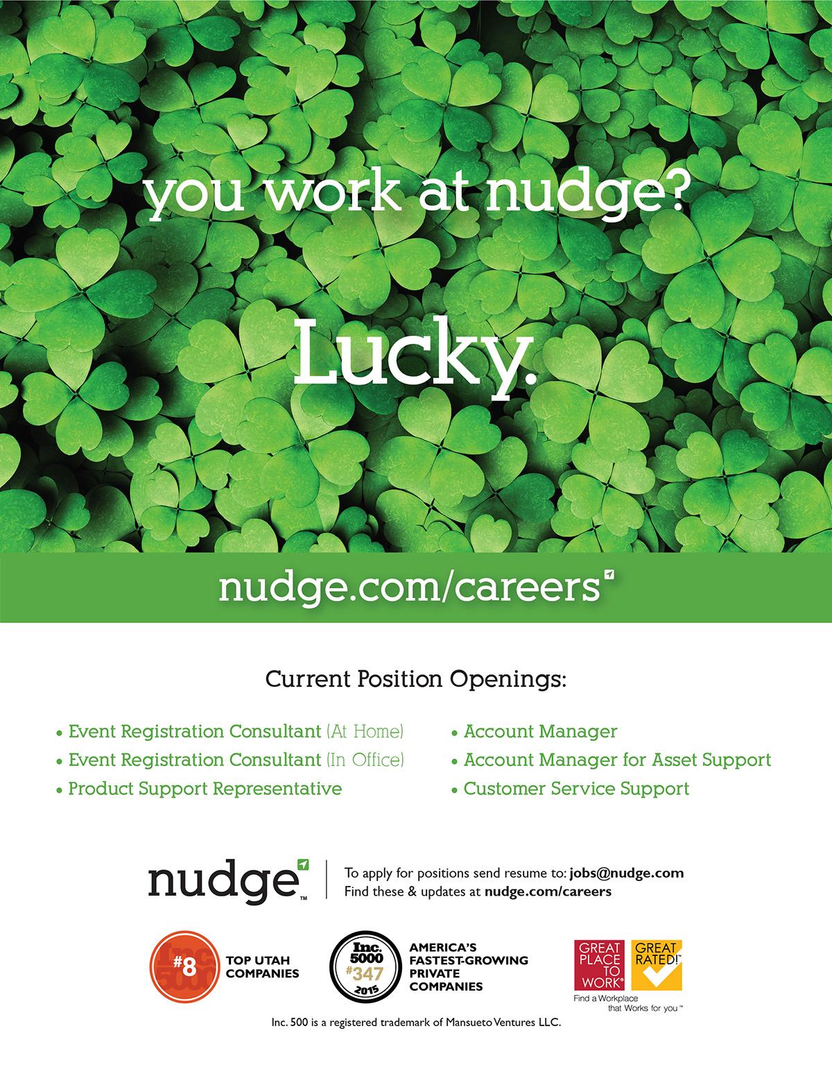 Career Opportunities Magazine Ad on Behance