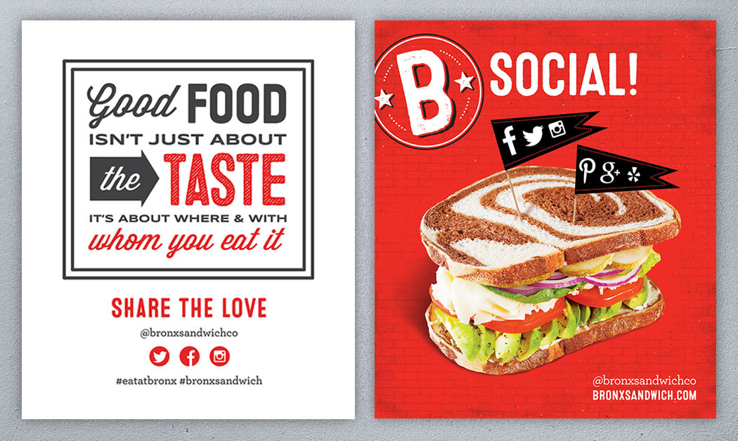 BRONX Sandwich Company, Deli, Restaurant Branding, Anaheim, LA, CA