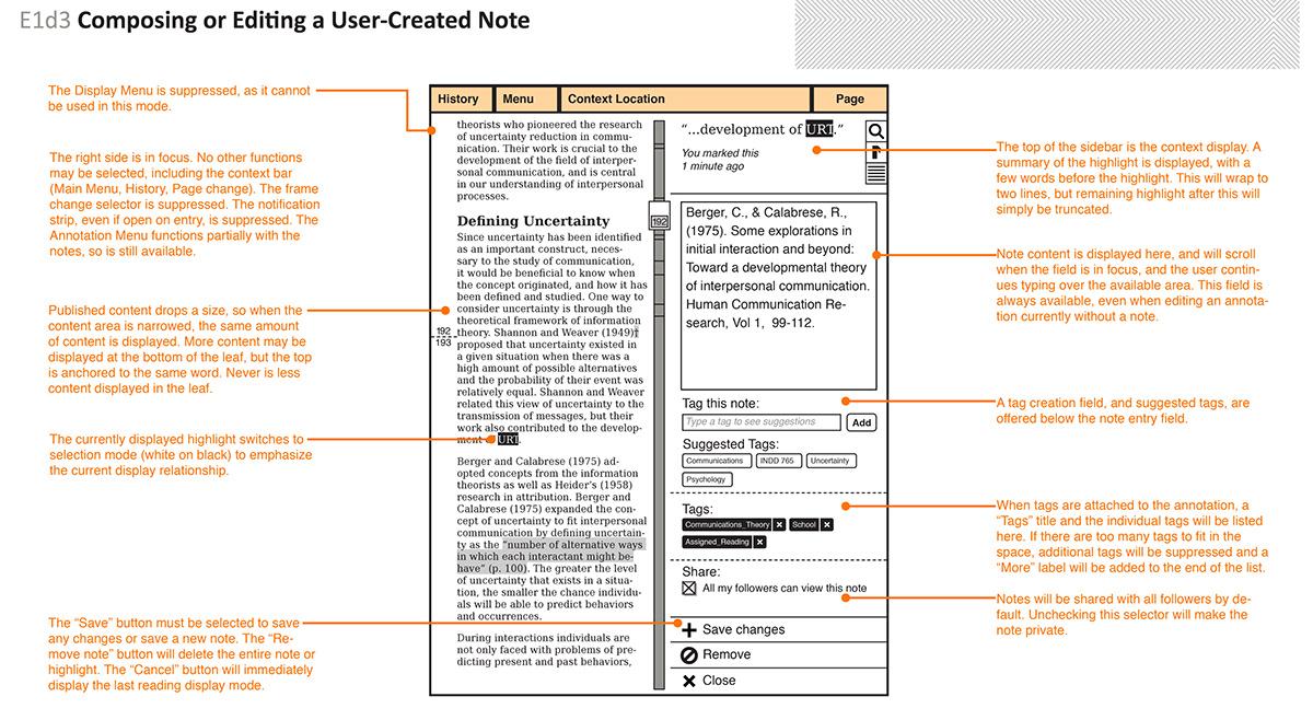 mobile IxD eReader  ePaper eink tablet social