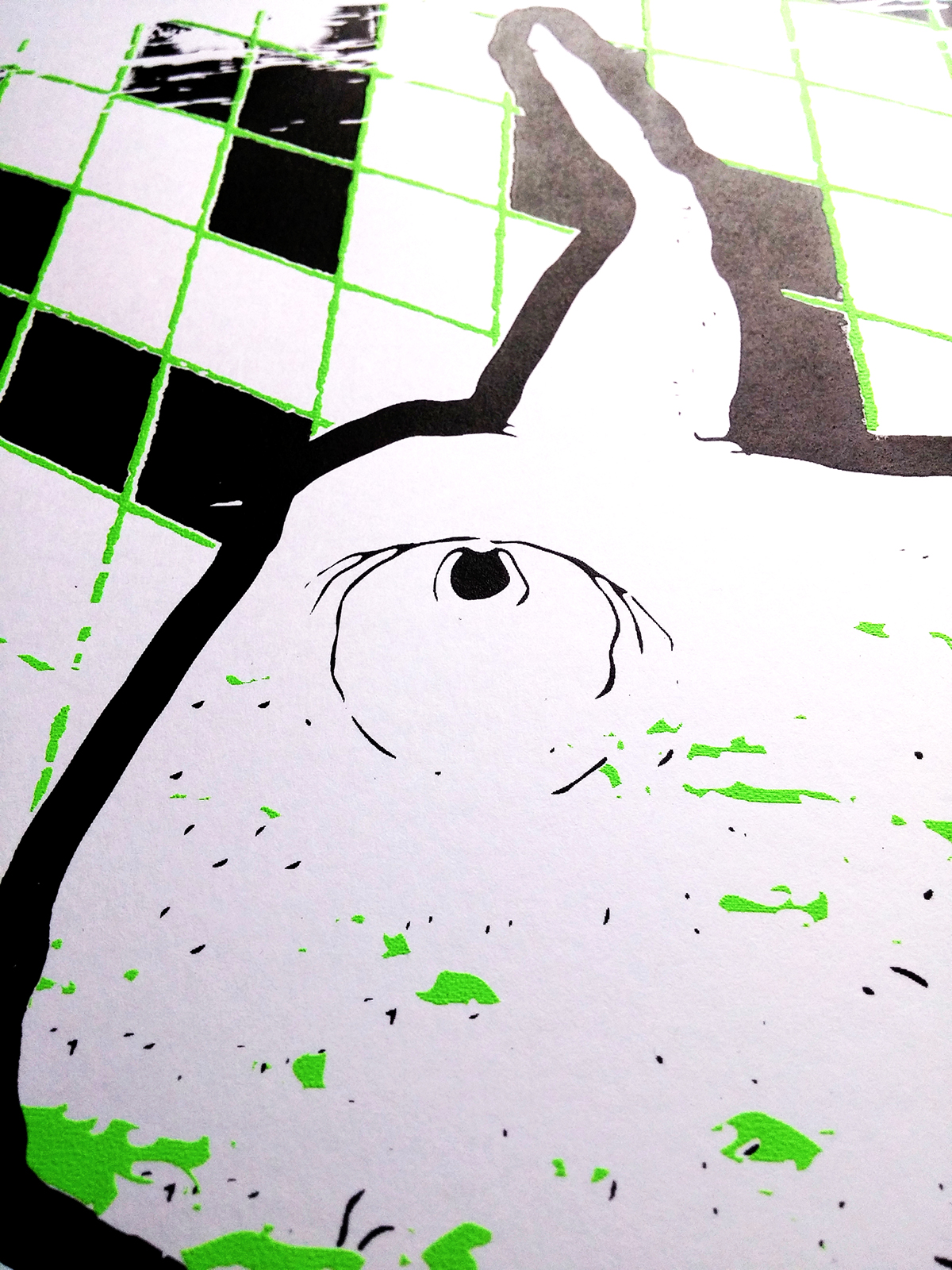 screen print screen print ink limited edition