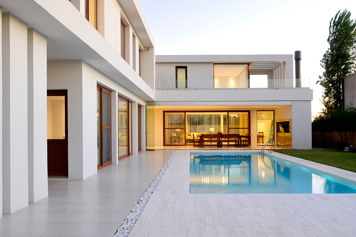 Casa moderna nordelta on behance for Casas modernas nordelta