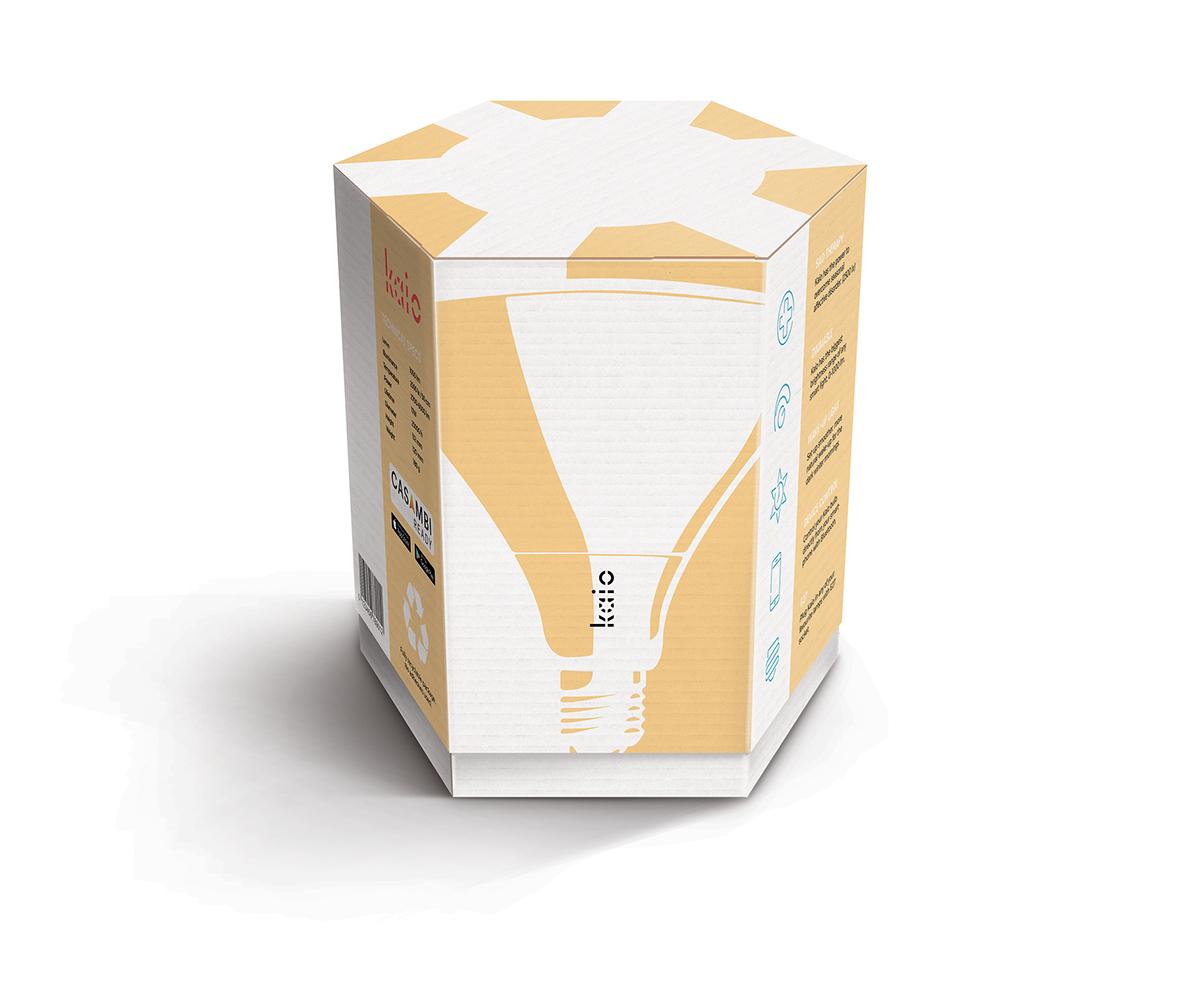 Kaio package design logo wordmark branding  company sad bright light light