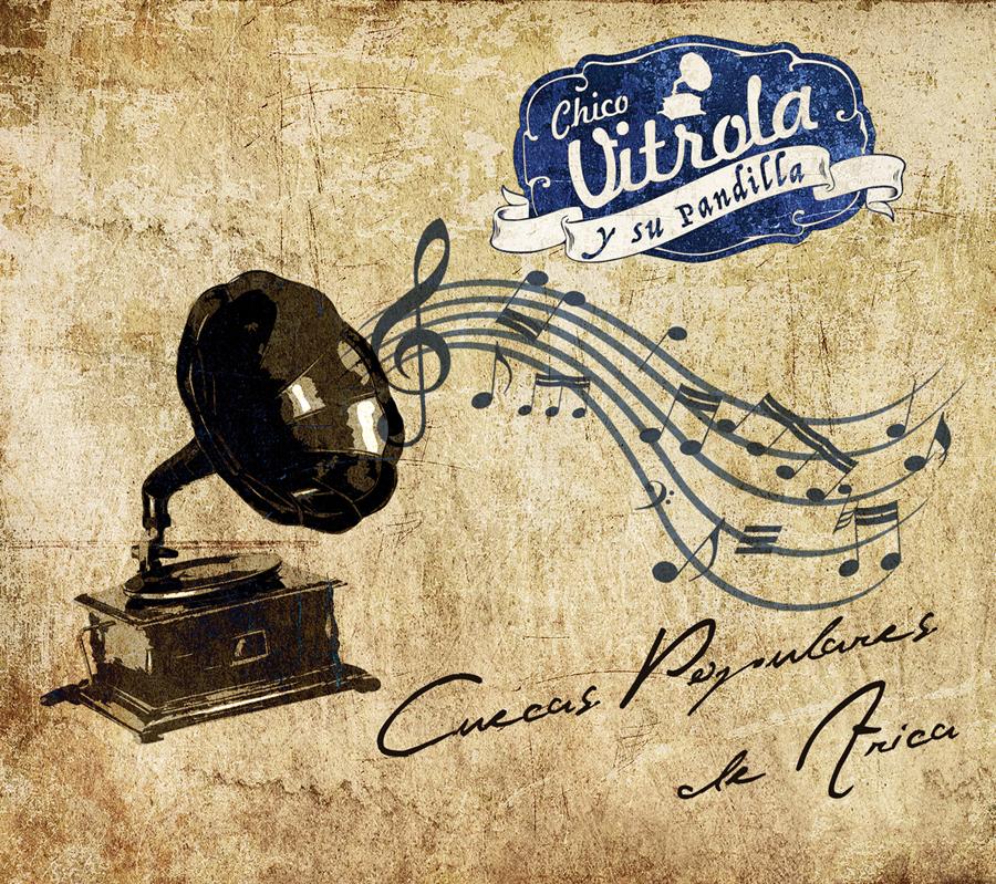 banda cd diseño Caratula musica disco