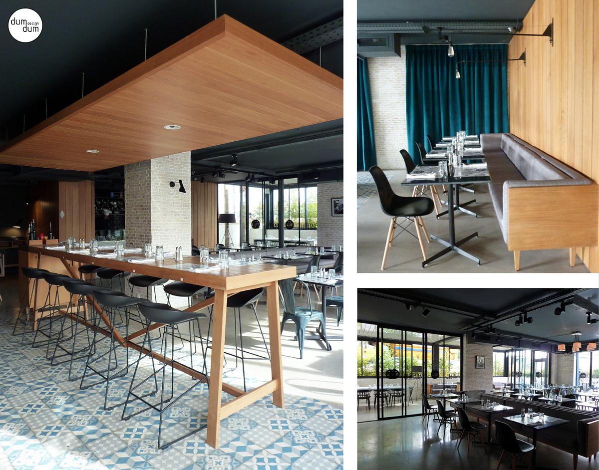 Restaurant fratelli concept by dumdum design on behance for Conception cuisine casablanca