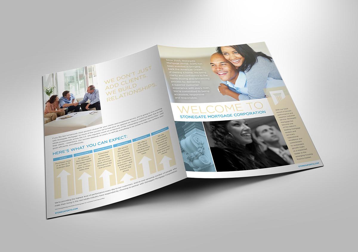 brochure Mortgage marketing