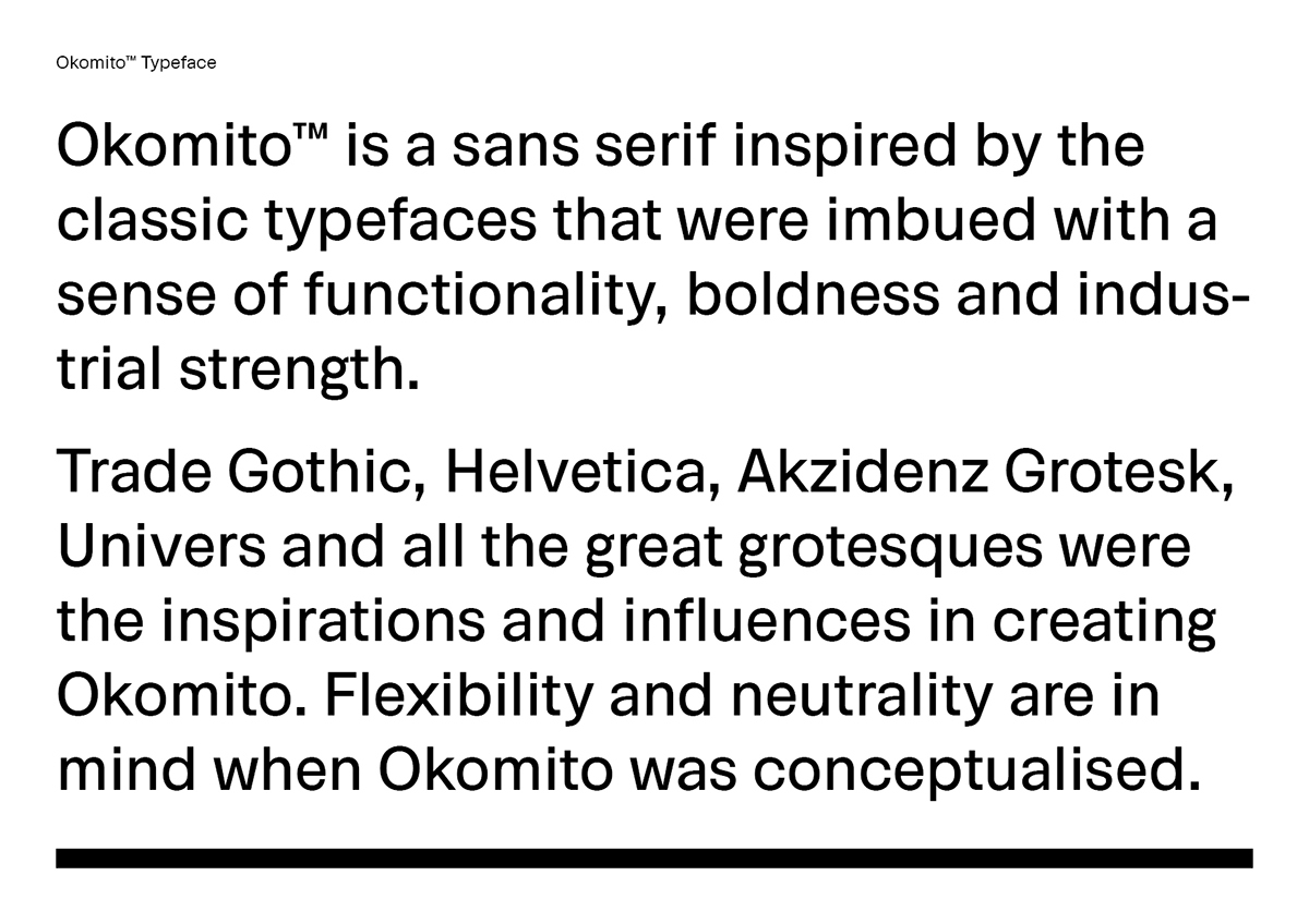 okomito perpendicular sans-serif Typeface font industrial bold gothic free gratis