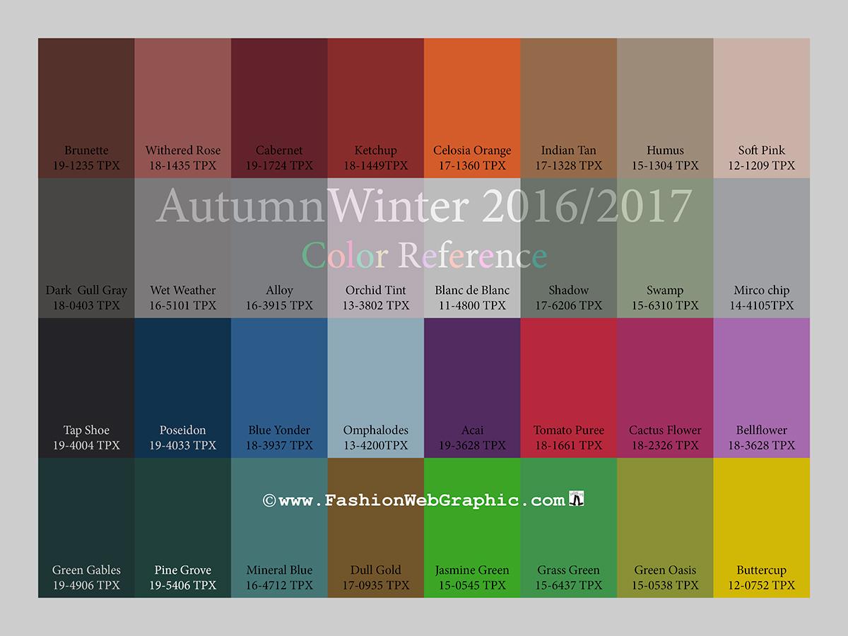 Самый модный цвет на осень 2017