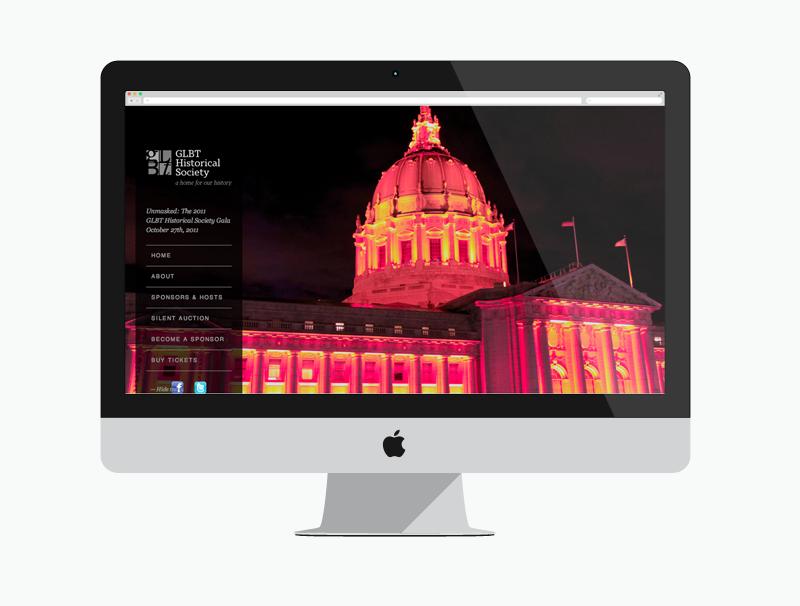 GLBTHS Gala Website
