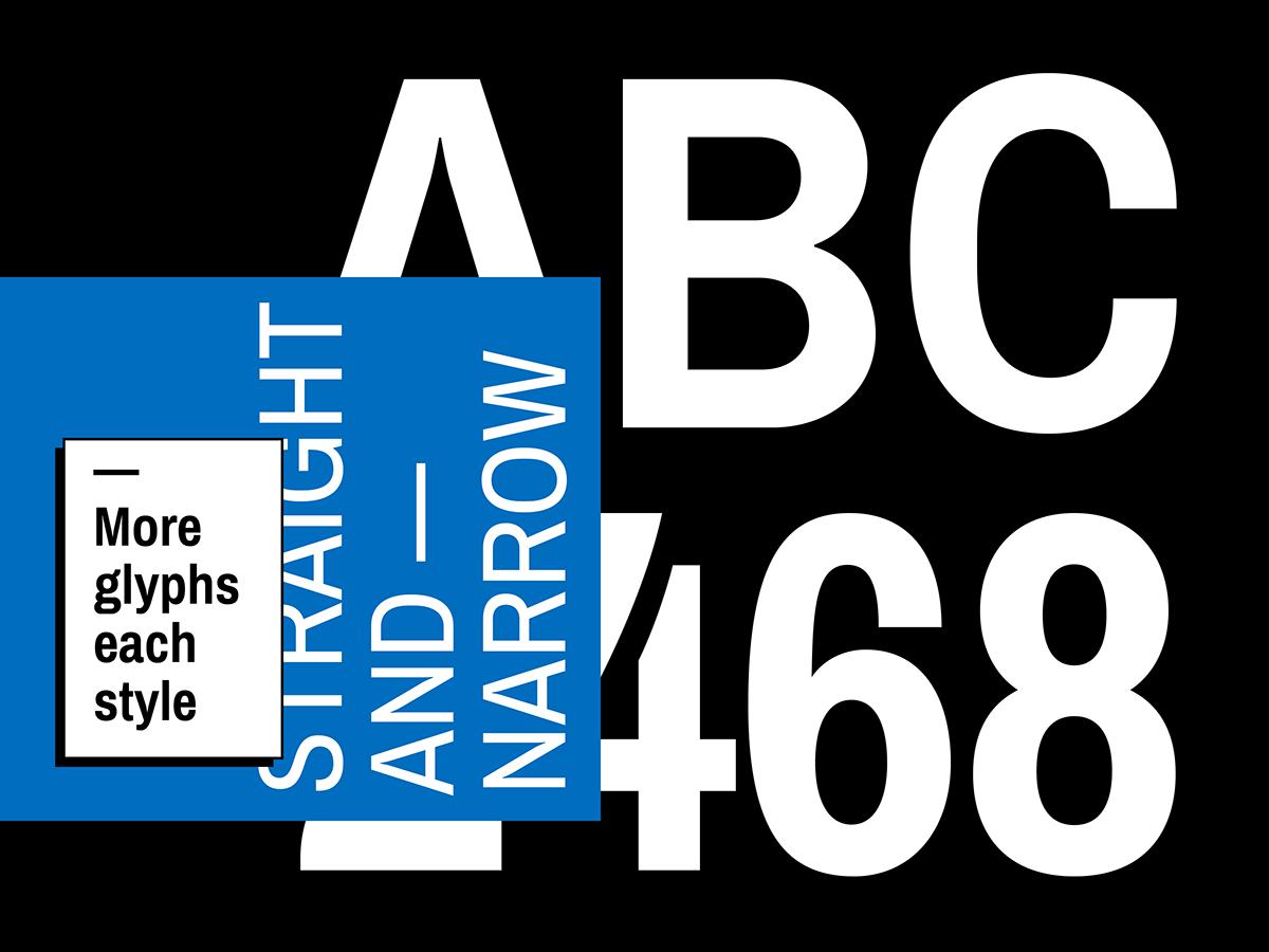 type Typeface typography   tipografia font fuente Omnibus Type archivo condensed google fonts