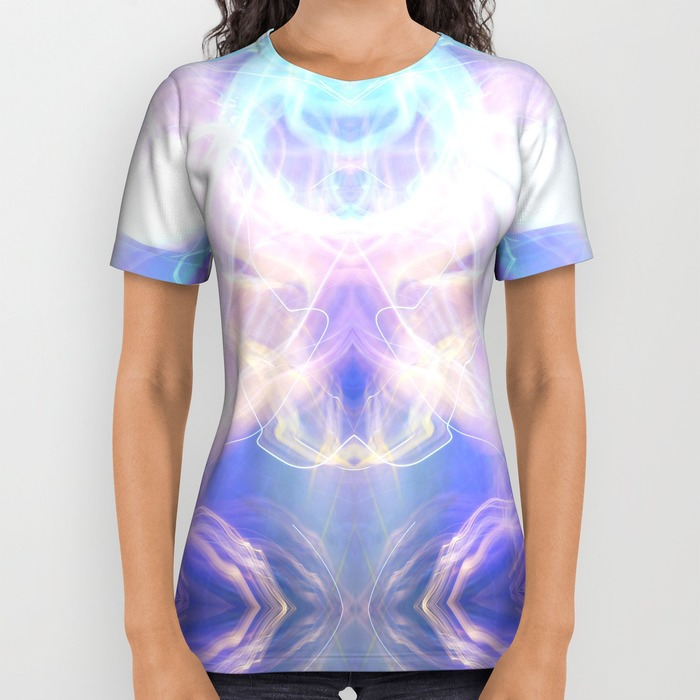 T Shirt abstract sci-fi