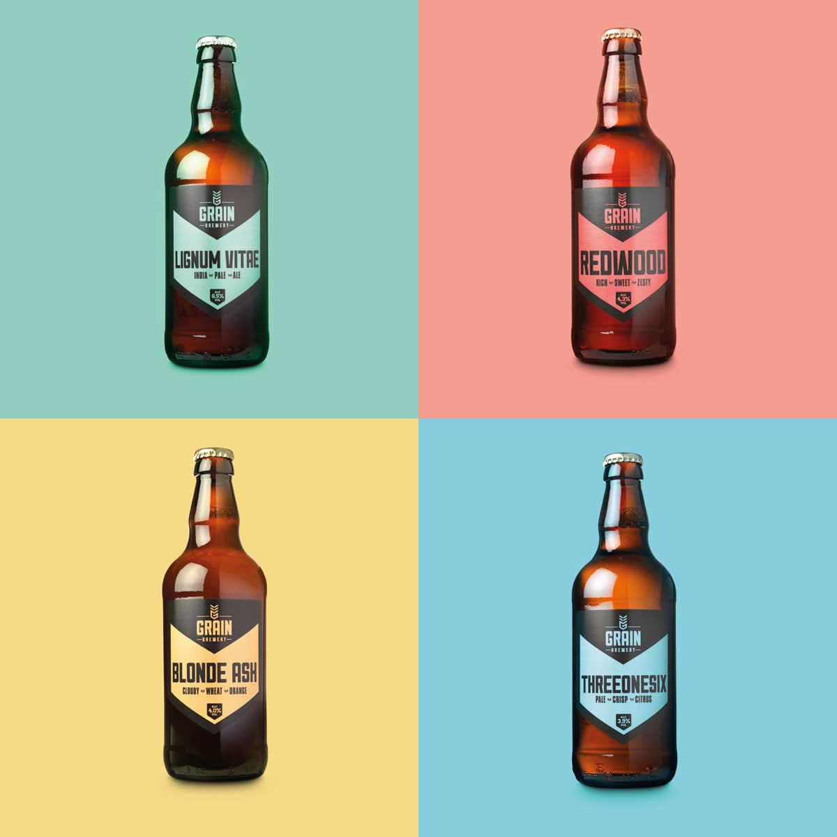 Craft Beer Brand Identity Logo Design Packaging On Behance
