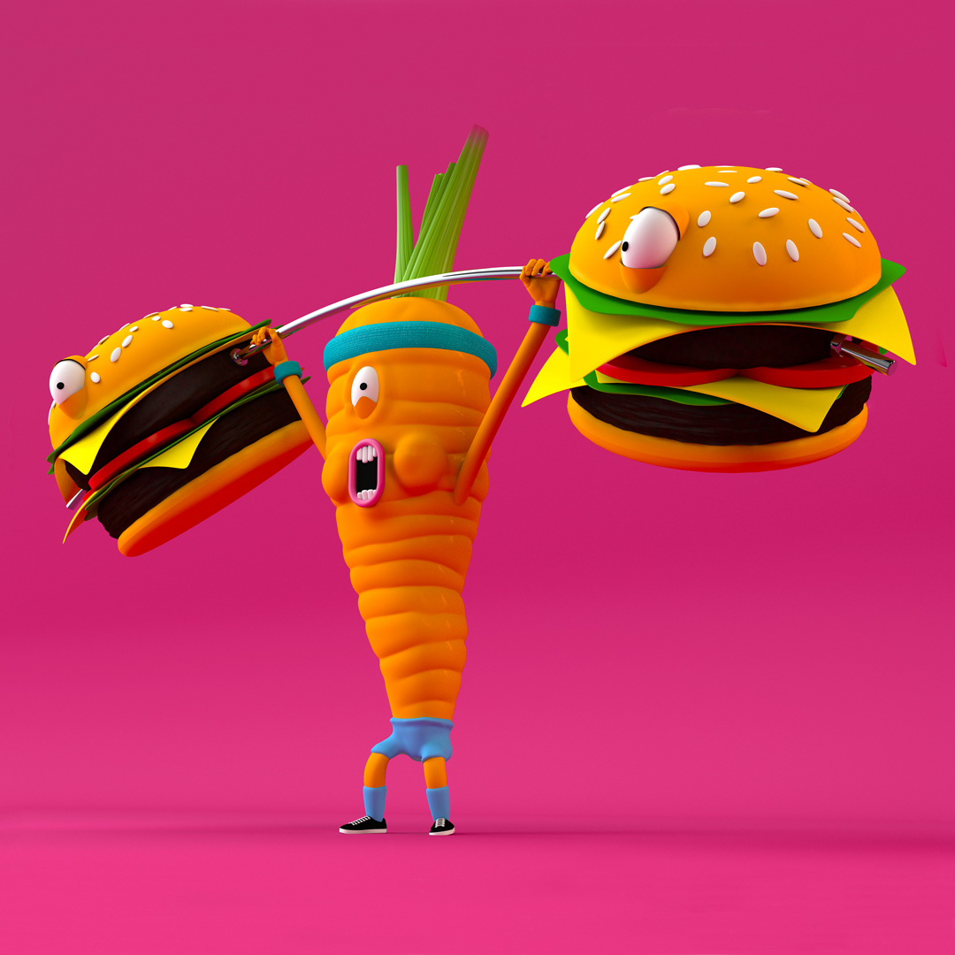 Bold & Colourful Illustrations by Design Lad