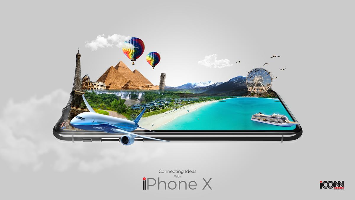 PHOTO MANIPULATION III iPhone X on Wacom Gallery